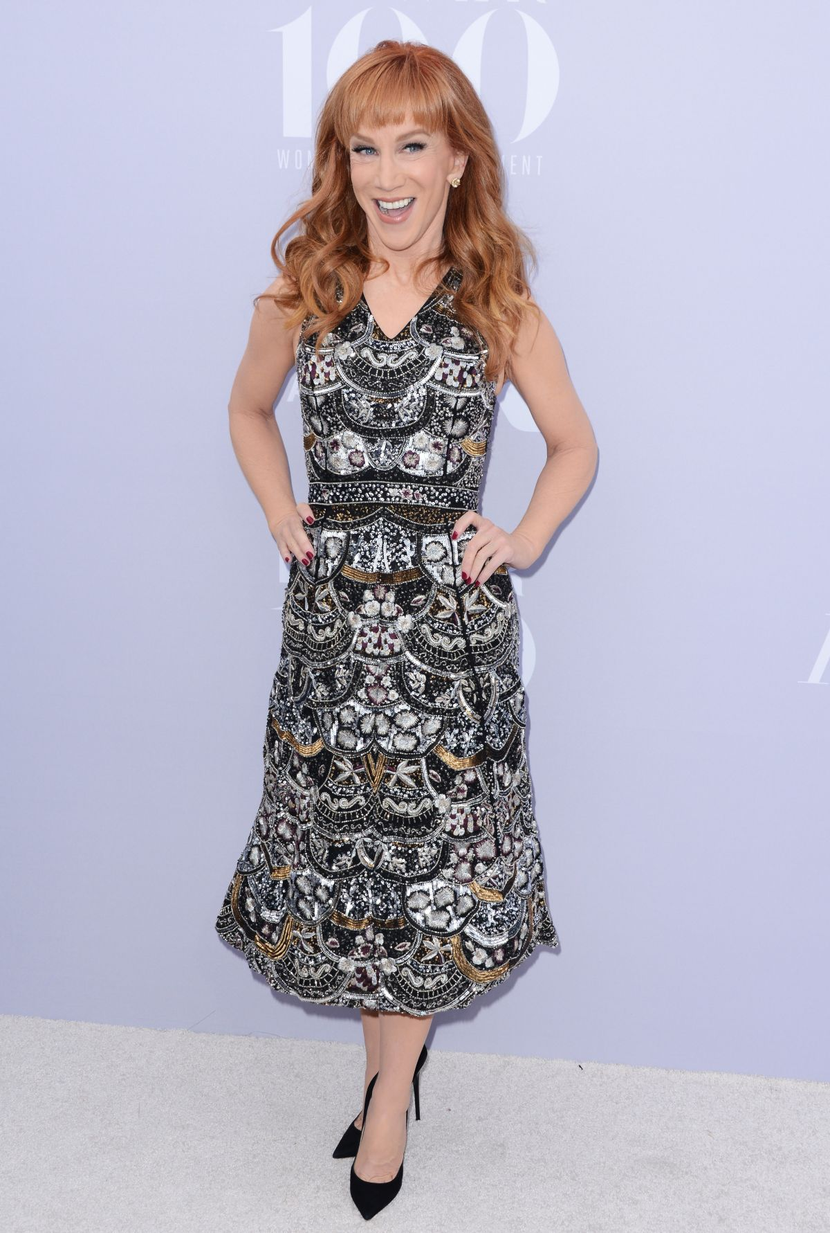 KATHY GRIFFIN at 24th Annual Women in Entertainment Breakfast 12/09/2015