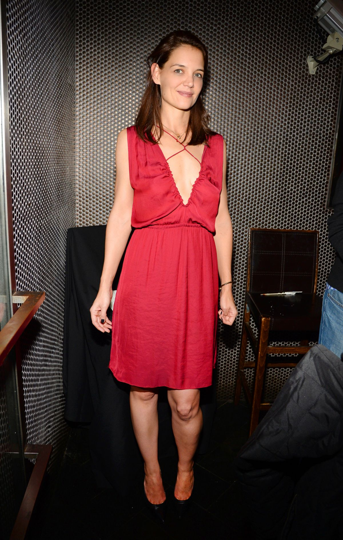 KATIE HOLMES at Beauty...