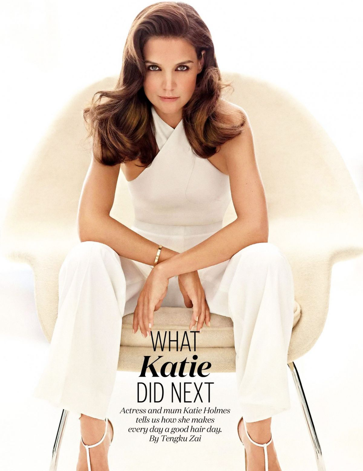 KATIE HOLMES in Elle Magazine, Malaysia January 2016 Issue