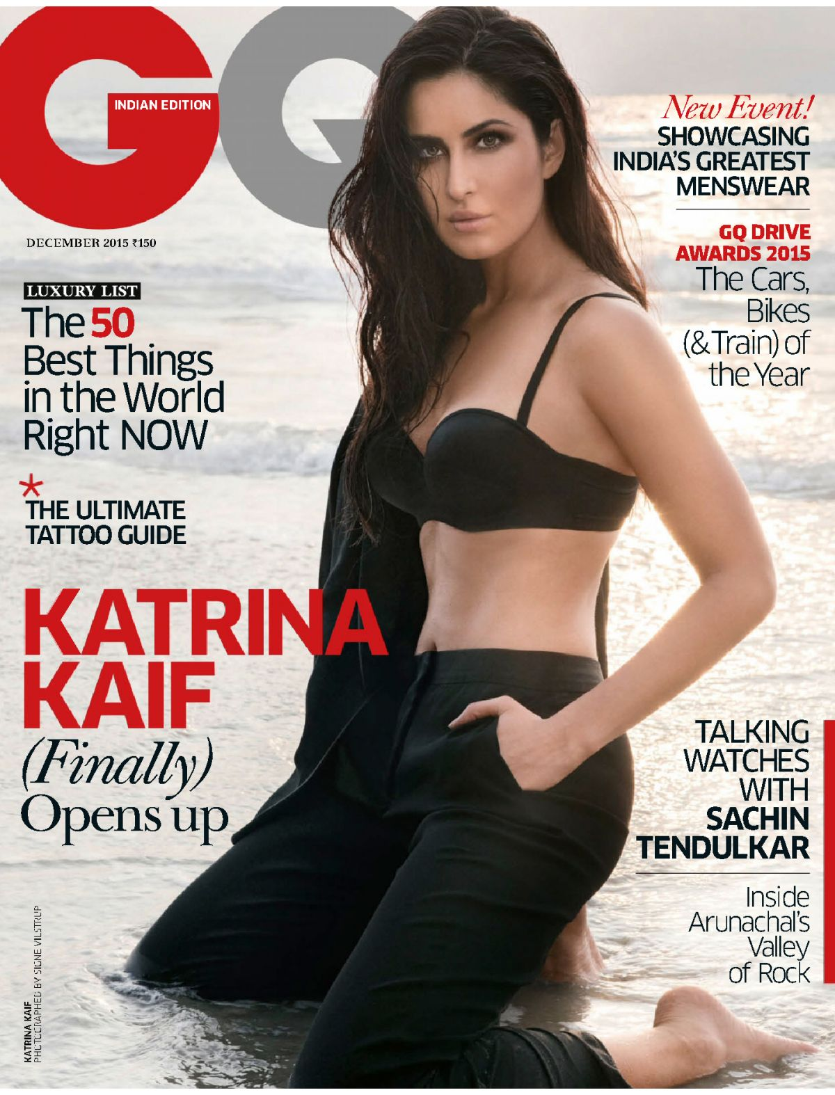 KATRINA KAIF in GQ Magazine, India December 2015 Issue