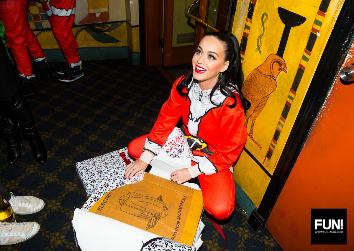 KATY PERRY at Santa Katy Christmas Party 12/14/2015 - HawtCelebs