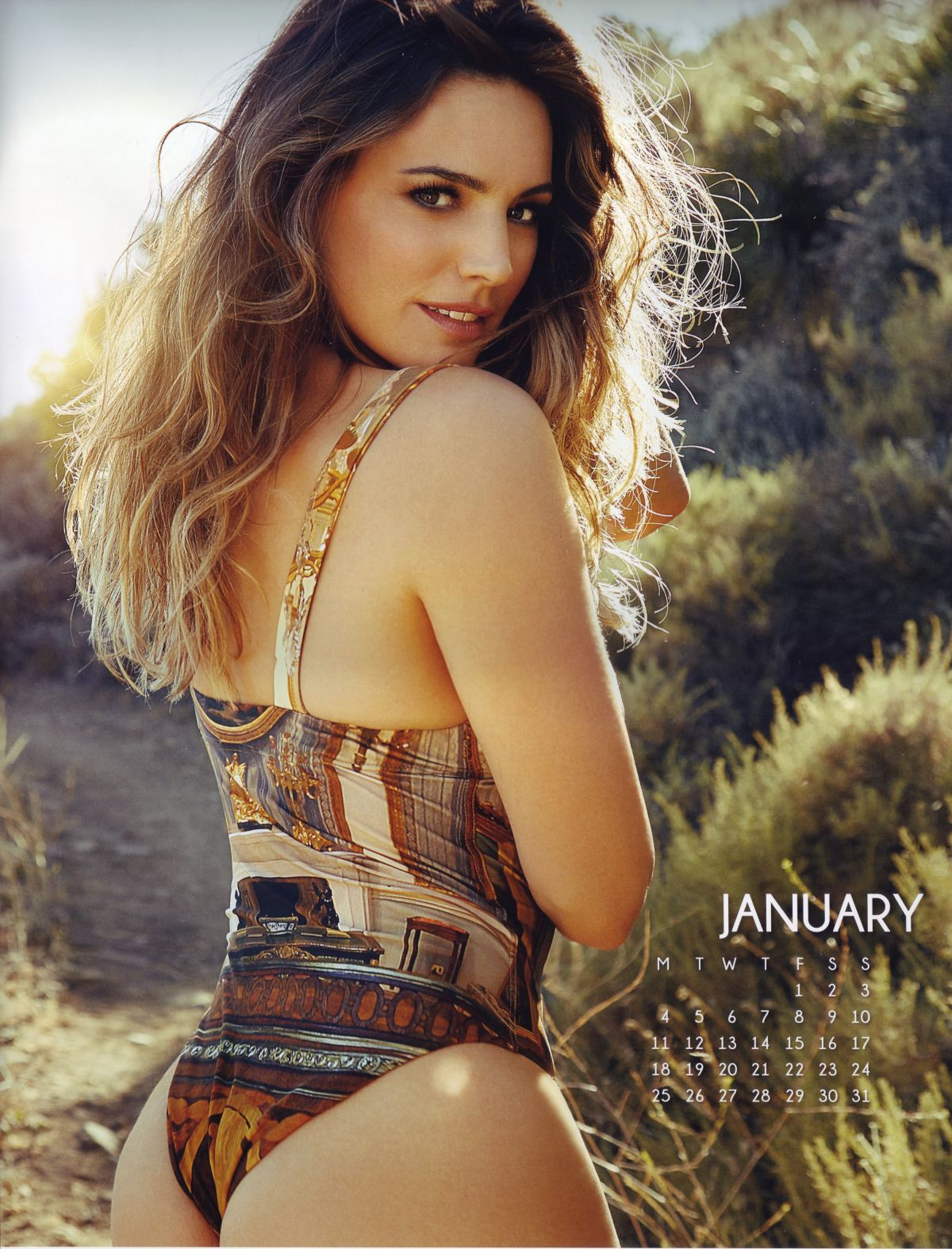 KELLY BROOK - 2016 Calendar