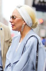 LADY GAGA Out Shopping in New York 12/24/2015