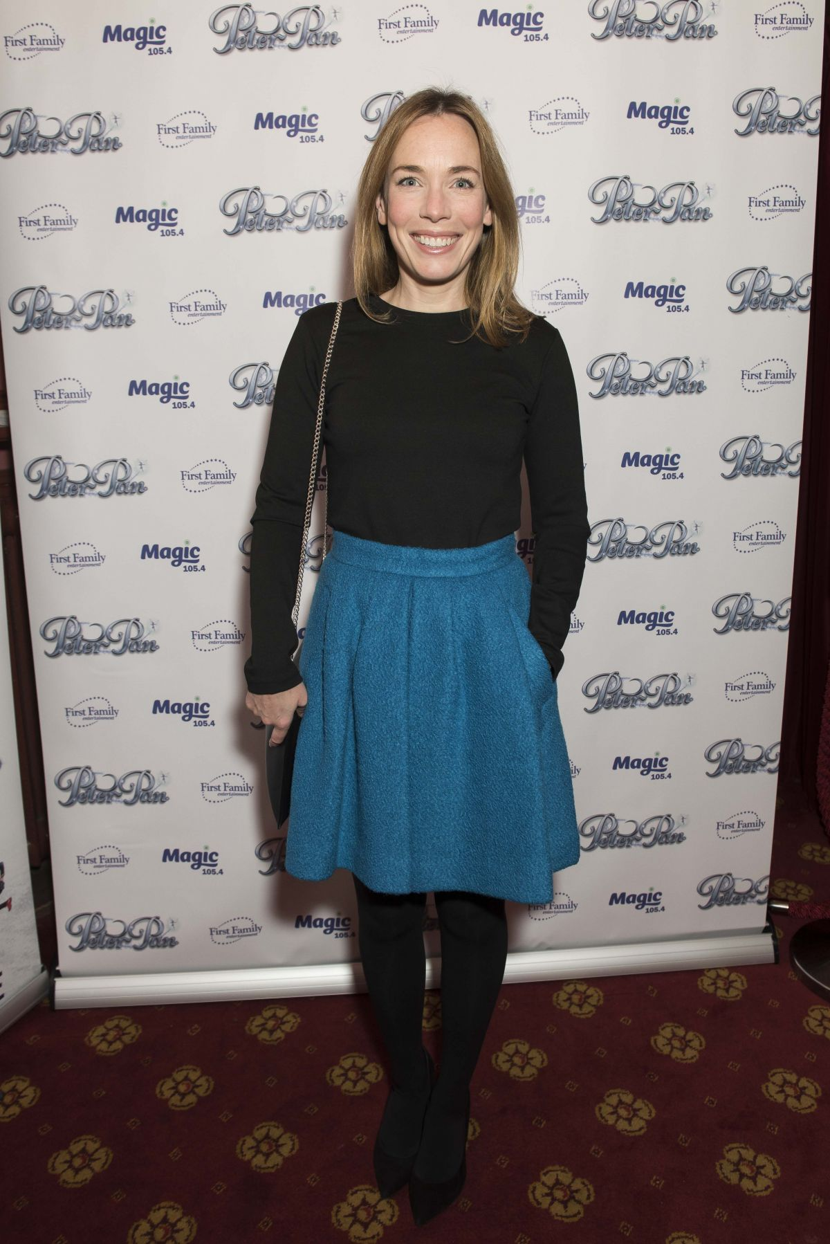 LAURA MAIN at Peter Pan and Tinker Bell – A Pirates Christmas Opening Night in Pasadena 12/09/2015