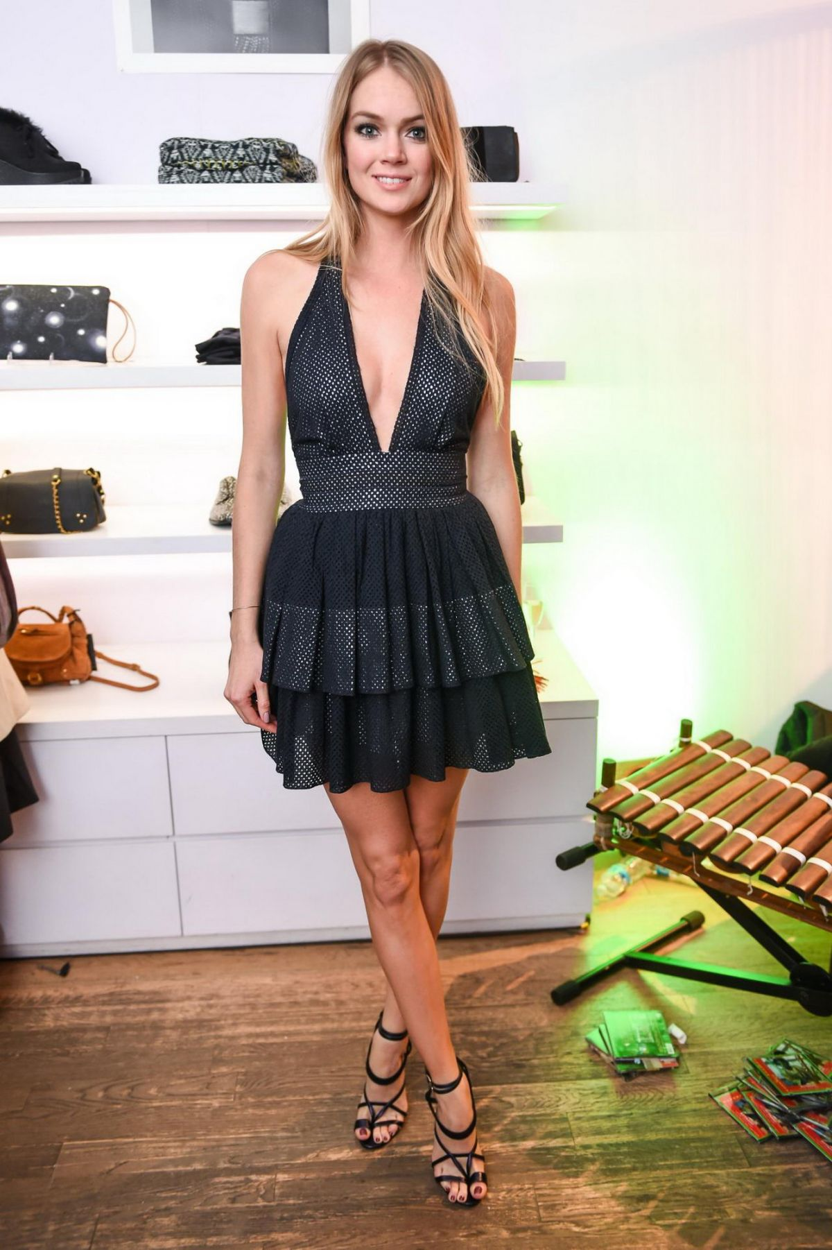 LINDSAY ELLINGSON at Jenke Ahmed Tailly & Sophie Theallet Fantasy Night at Kisan Soho