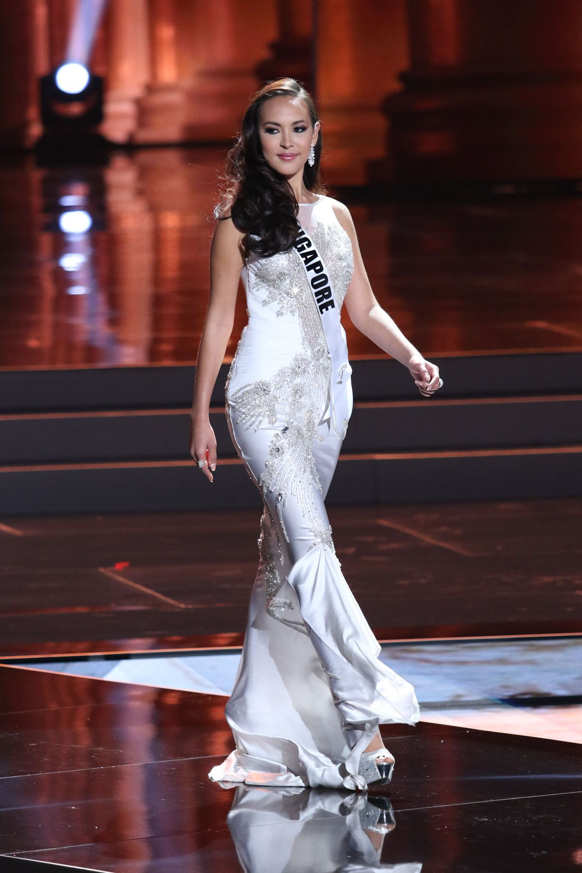 LISA MARIE WHITE - Miss Universe 2015 Preliminary Round 12/16/2015