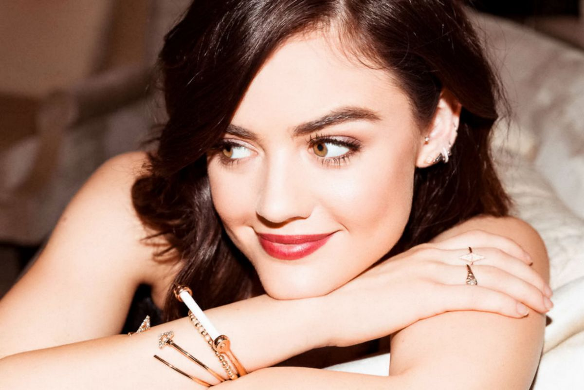 LUCY HALE - Into the Gloss Photoshoot