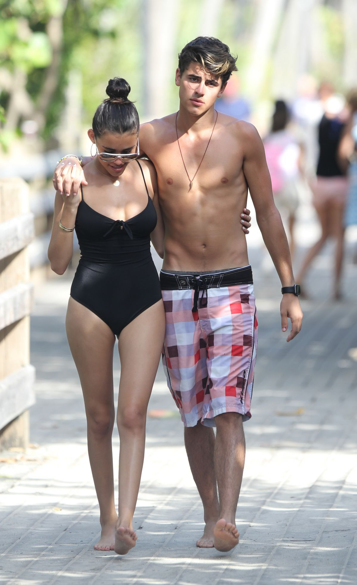 b114b9fabc MADISON BEER in Swimsuit Out in Miami 12/31/2015 – HawtCelebs