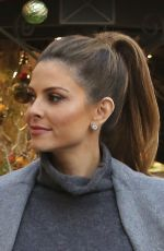 MARIA MENOUNOS Out for Dinner at Blue Ribbon Sushi Bar & Grill in West Hollywood 12/13/2015