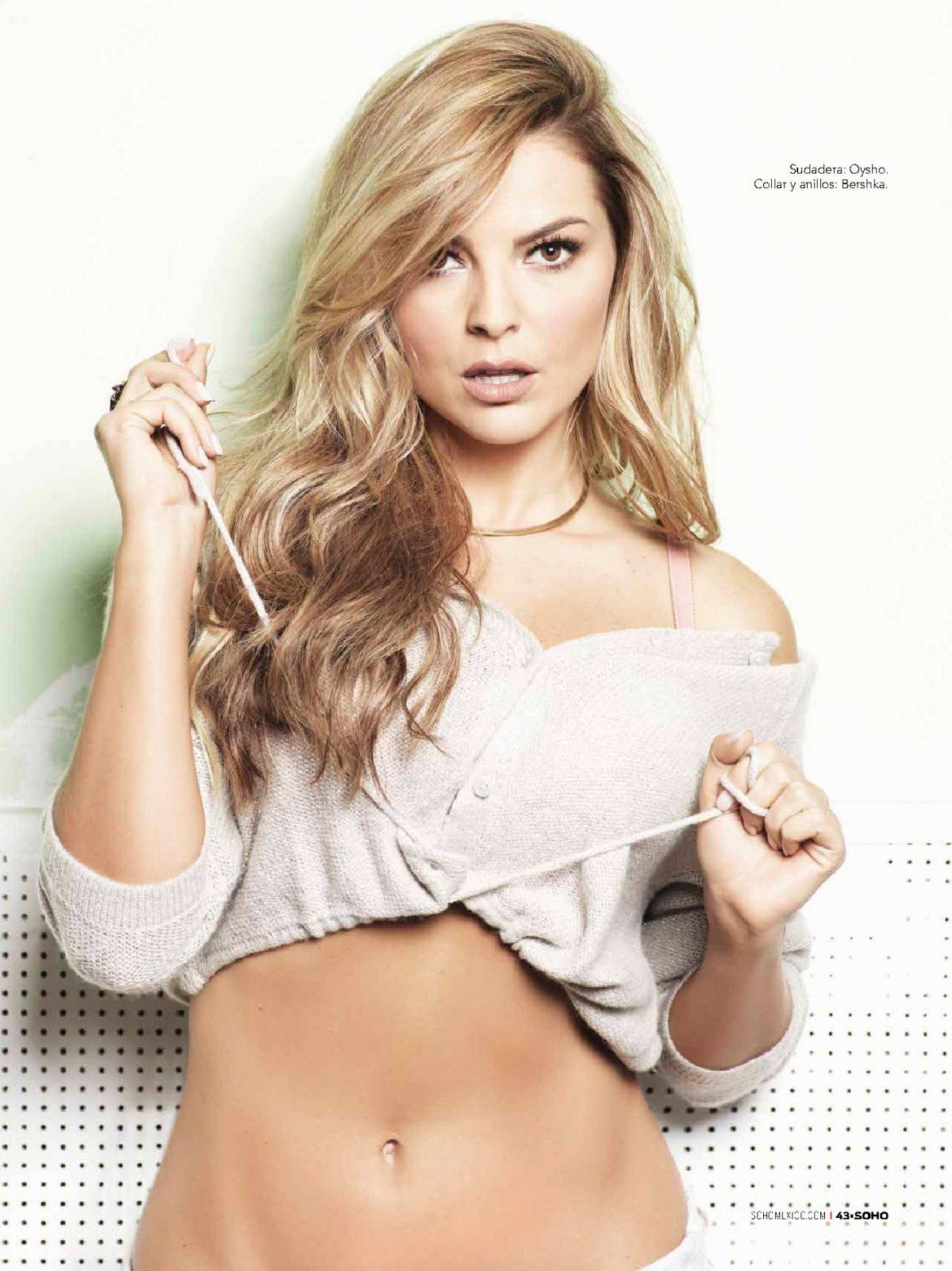 MARJORIE DE SOUSA in Soho Magazine, Mexico December 2015 Issue