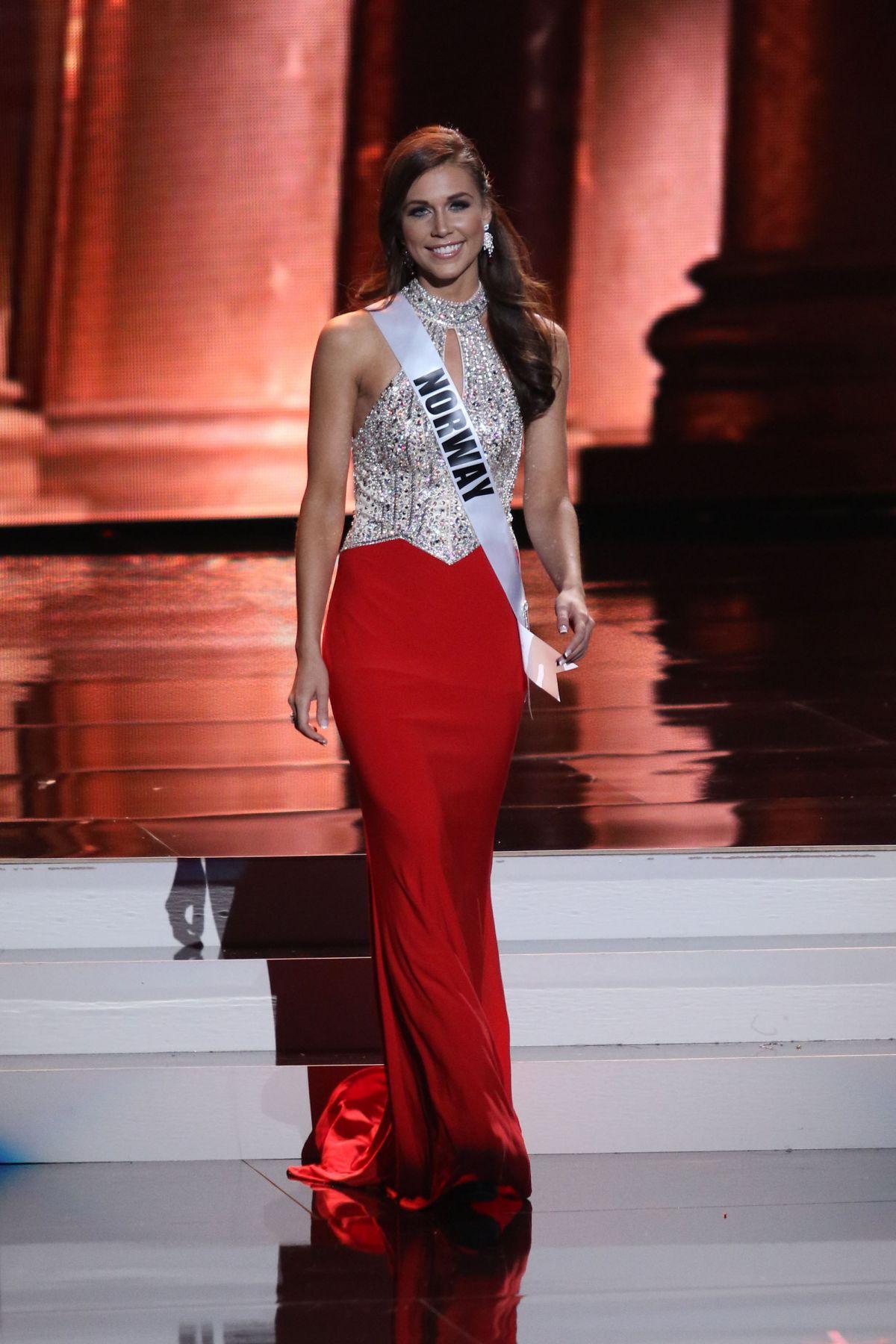 MARTINE RODSETH - Miss Universe 2015 Preliminary Round 12/16/2015