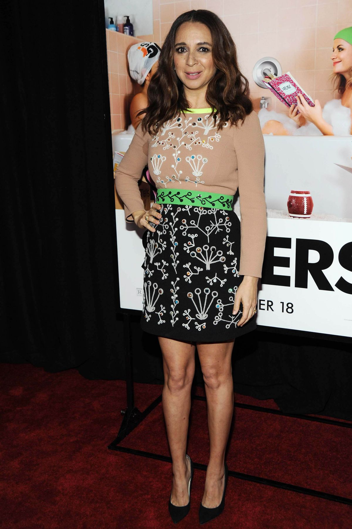 MAYA RUDOLPH at Sisters Premiere in New York 12/08/2015 - HawtCelebs