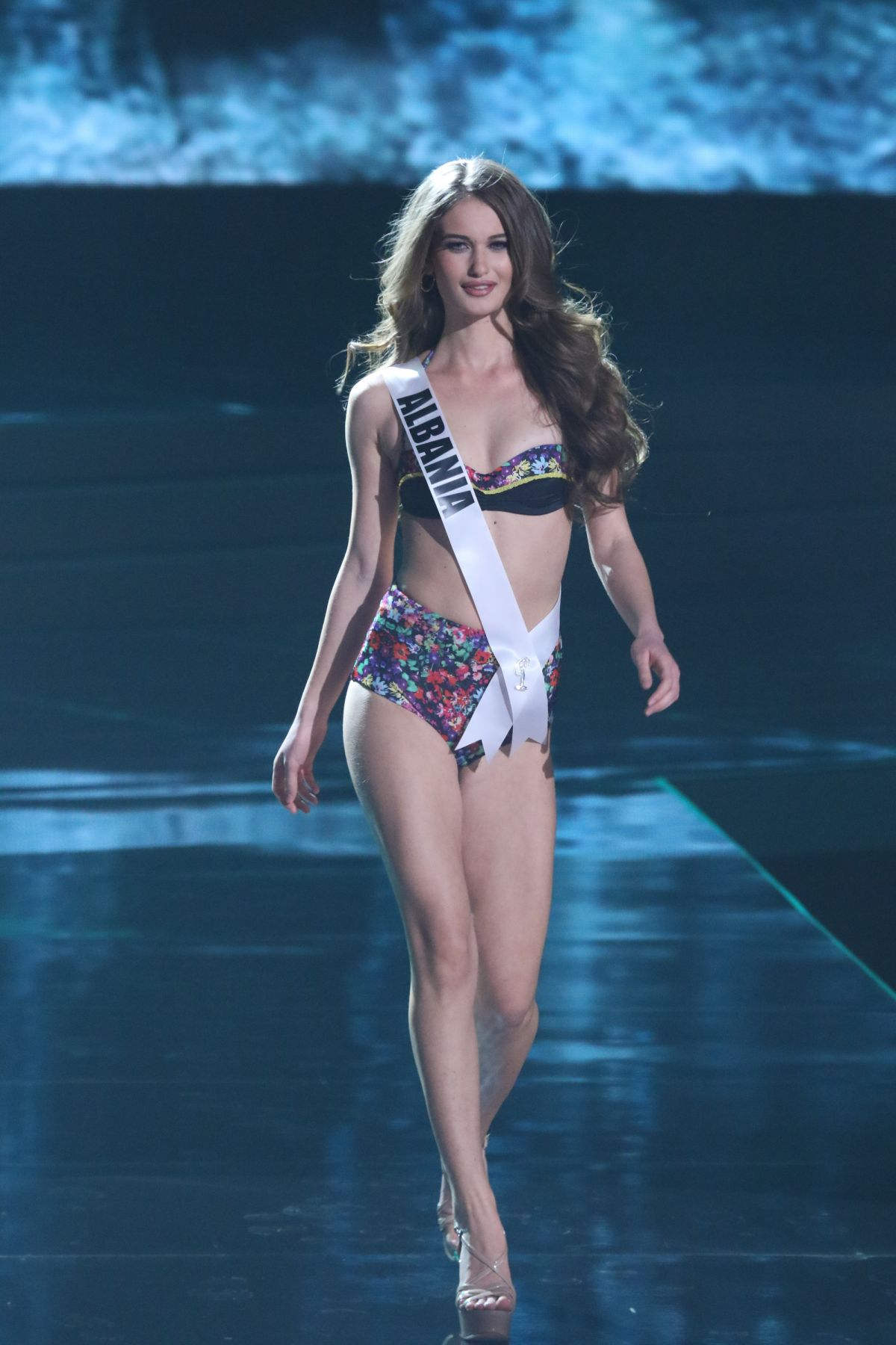 MEGI LUKA - Miss Universe 2015 Preliminary Round 12/16/2015