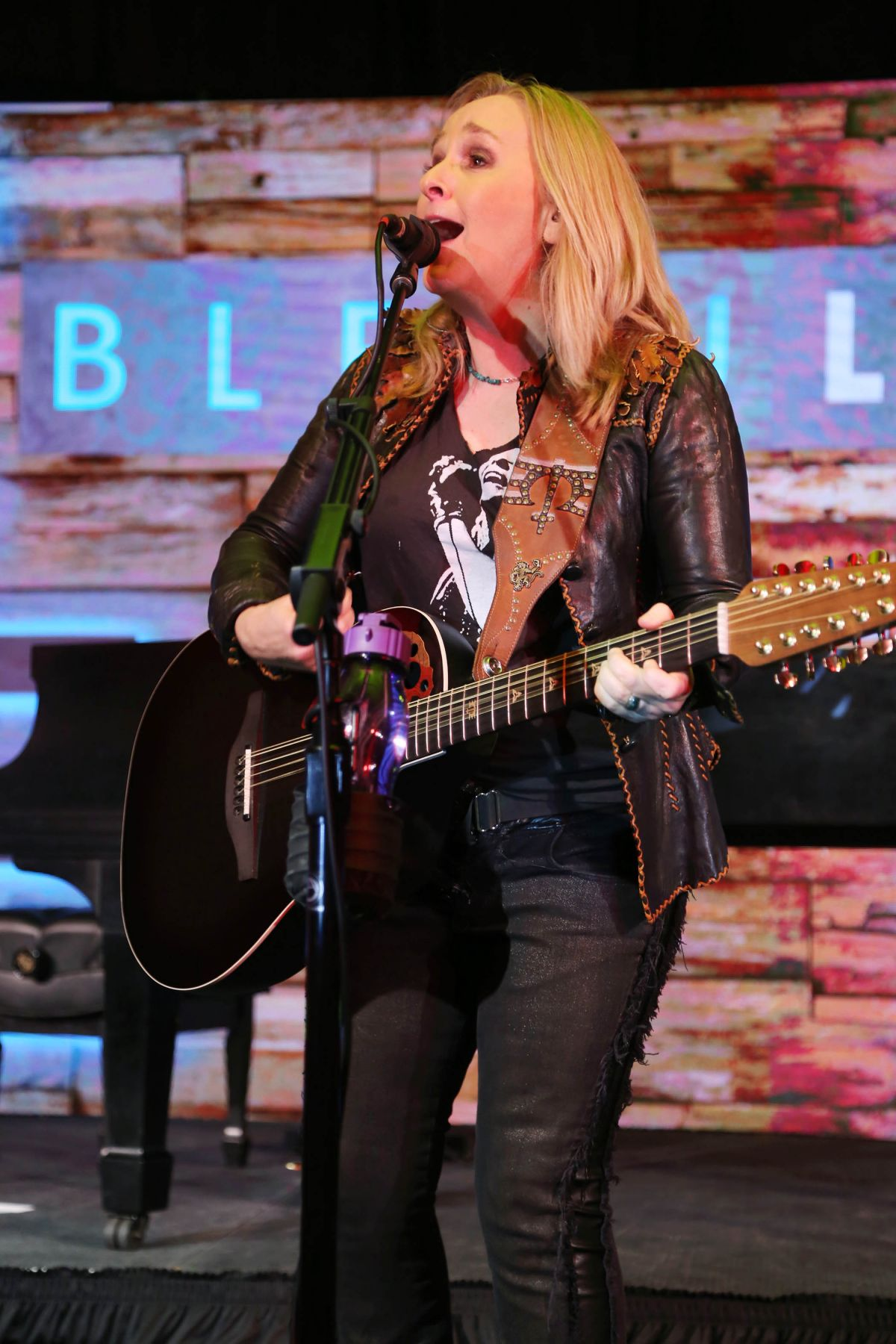 MELISSA ETHERIDGE Performs at Fontainebleau Hotel Miami Beach Bleaulive in Miami Beach 11/28/2015