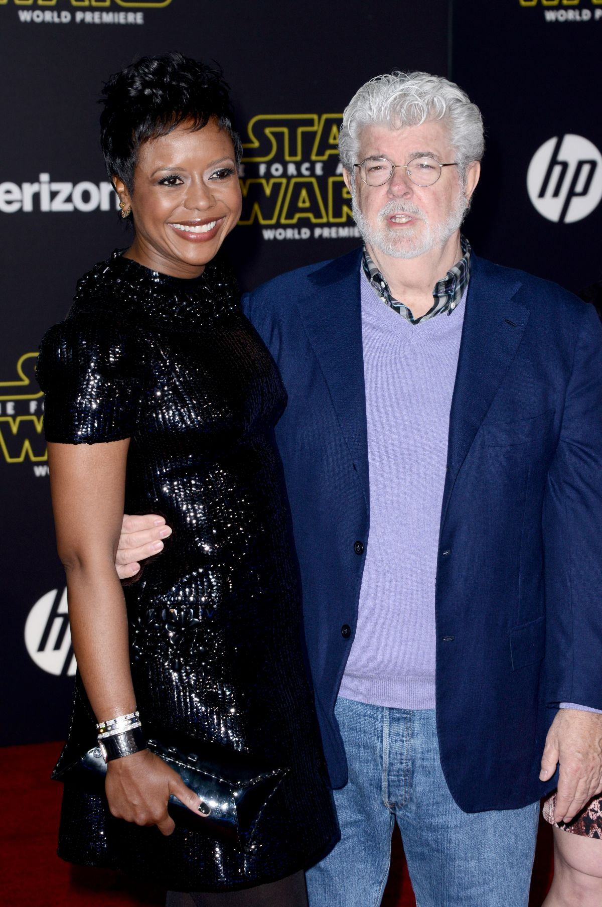 MELLODY HOBSON at Star Wars: Episode VII – The Force Awakens Premiere in Hollywood 12/14/2015