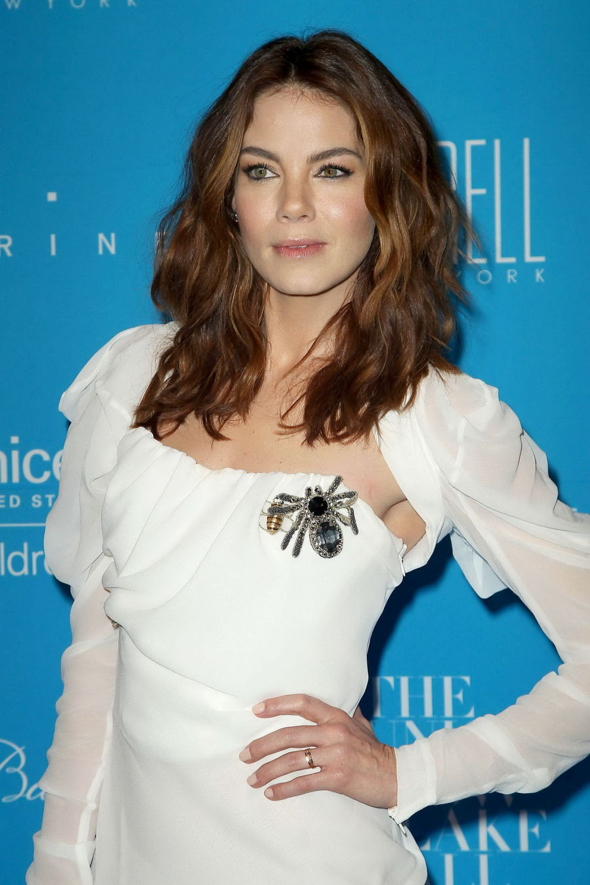 MICHELLE MONAGHAN at 2015 Unicef Snowflake Ball in New York 12/01/2015