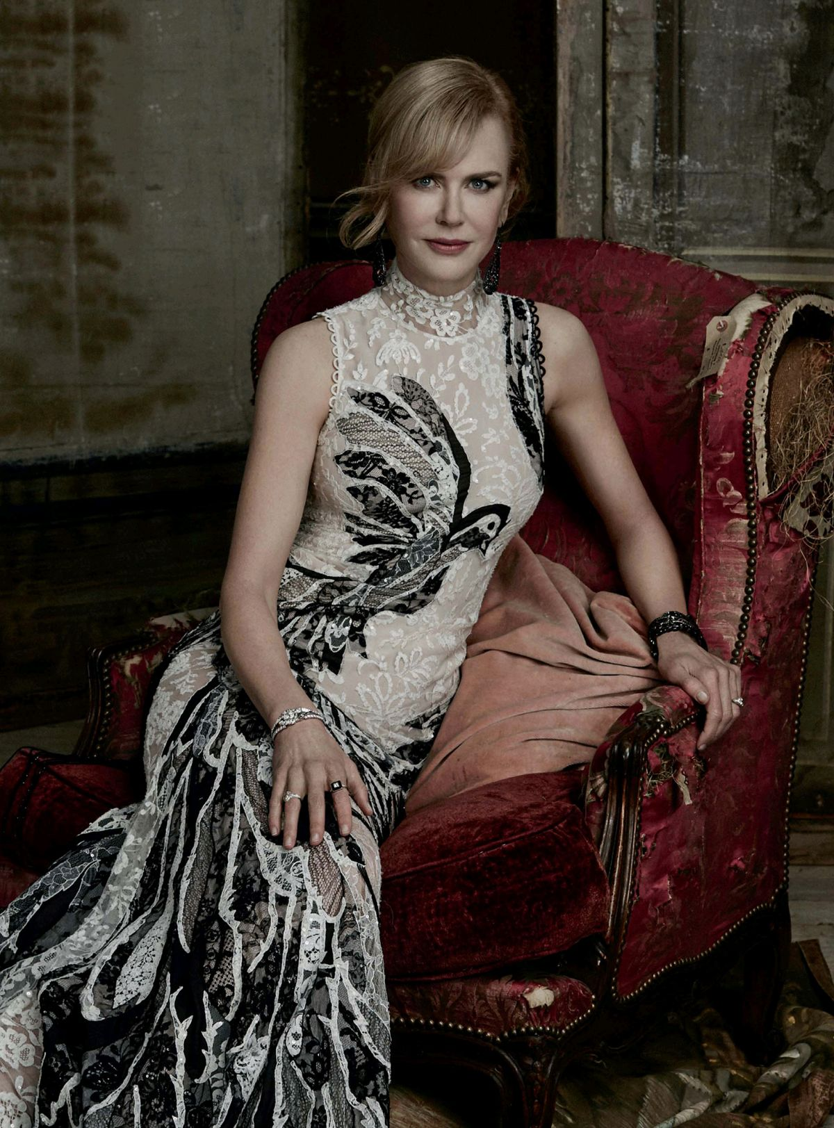 NICOLE KIDMAN in Evening Standard Magazine, December 2015 Issue