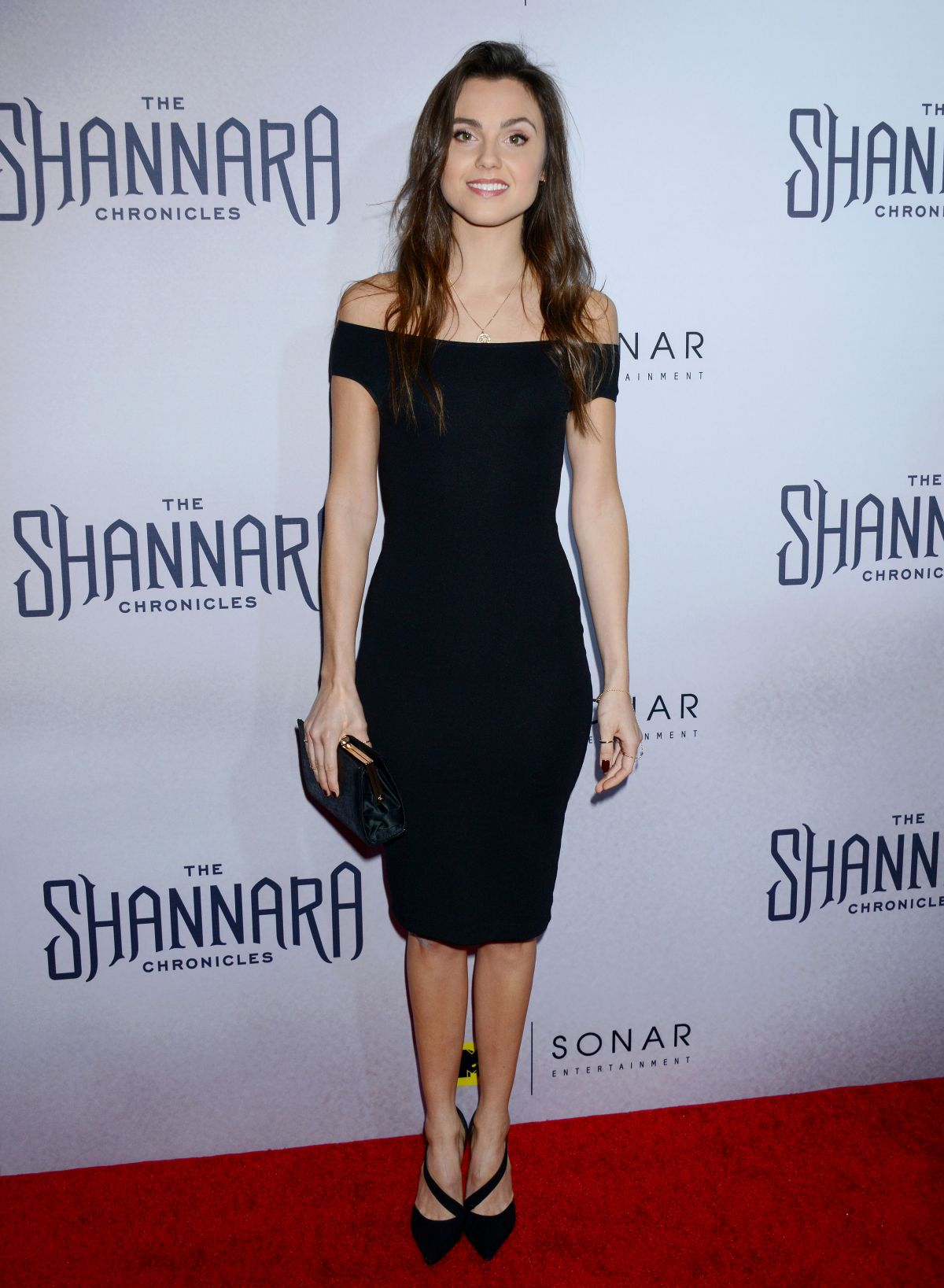 POPPY DRAYTON at The Shannara Chronicles Premiere Party in Los Angeles 12/04/2015