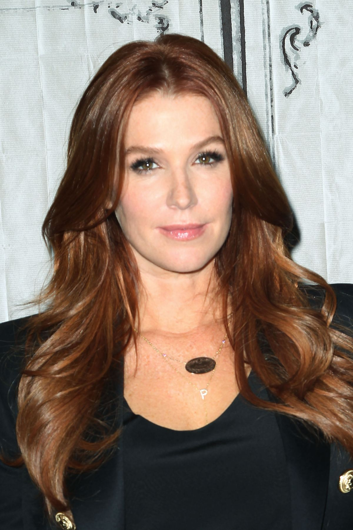 POPPY MONTGOMERY Promotes Unforgettable at AOL Buils Series in New York 12/07/2015