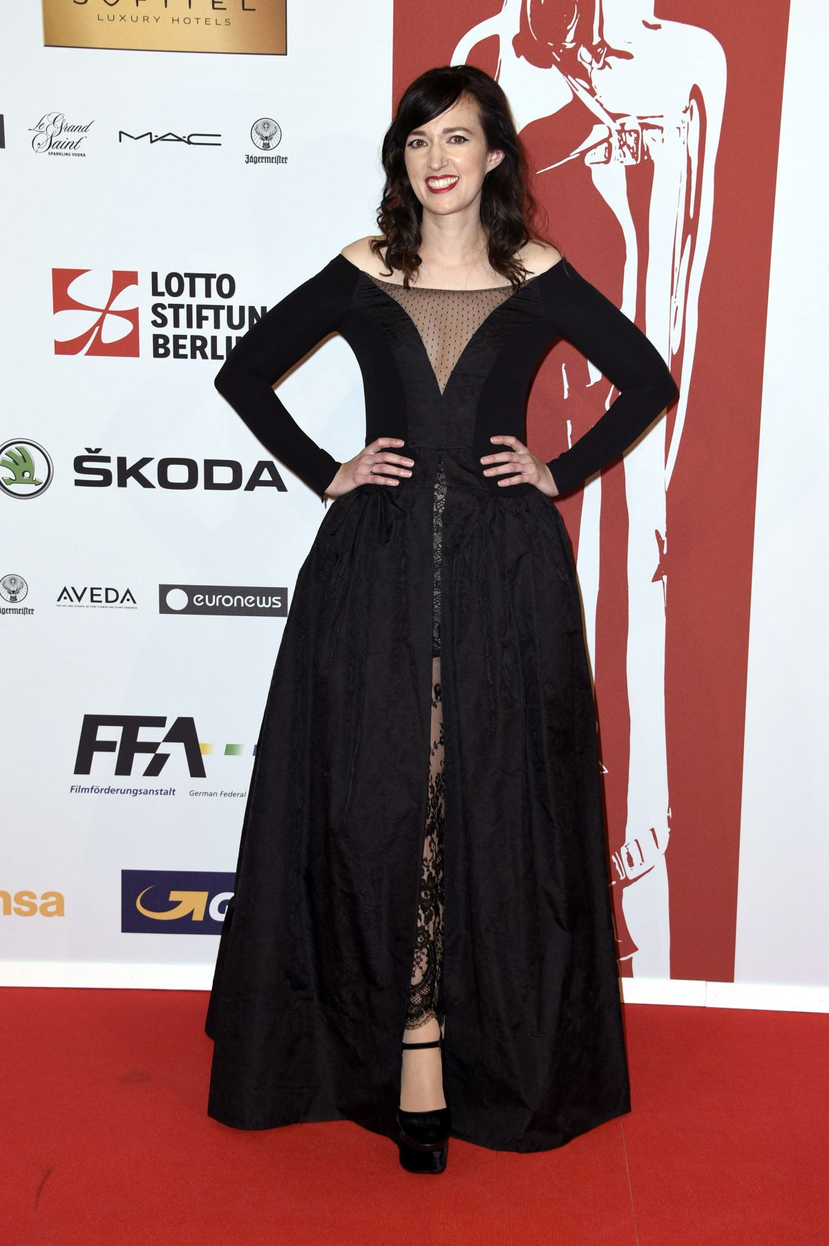 RACHEL ZEFFIRA at 28th Annual European Film Awards in Berlin 12/12/2015