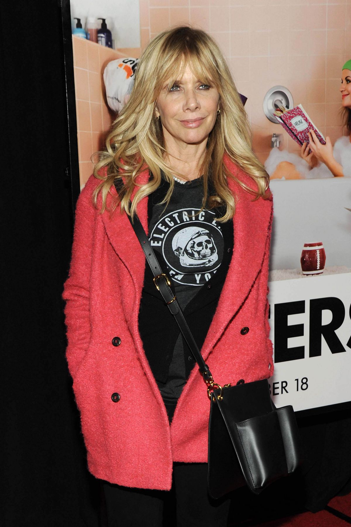 ROSANNA ARQUETTE at Sisters Premiere in New York 12/08/2015