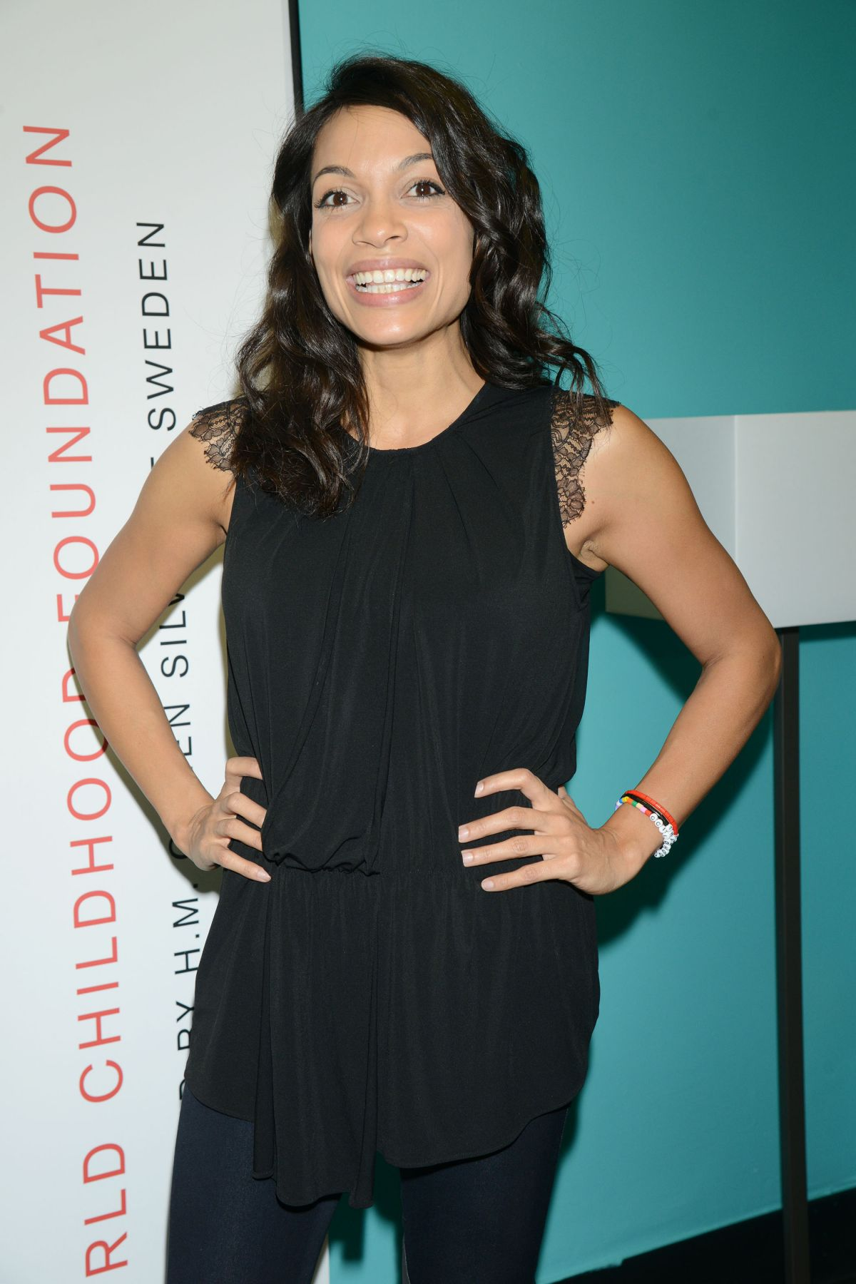 ROSARIO DAWSON at Thank You by the Childhood USA Advocacy Campaign in ... Rosario Dawson