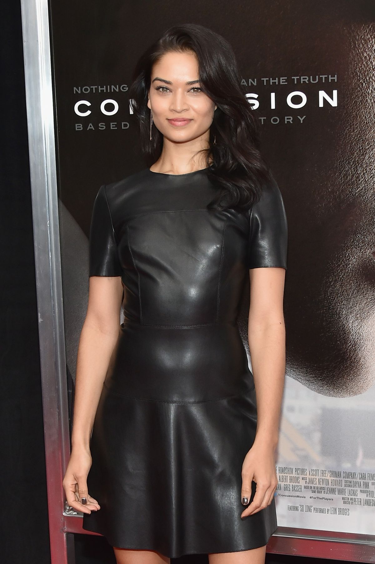 SHANINA SHAIK at Concussion Premiere in New York 12/16/2015
