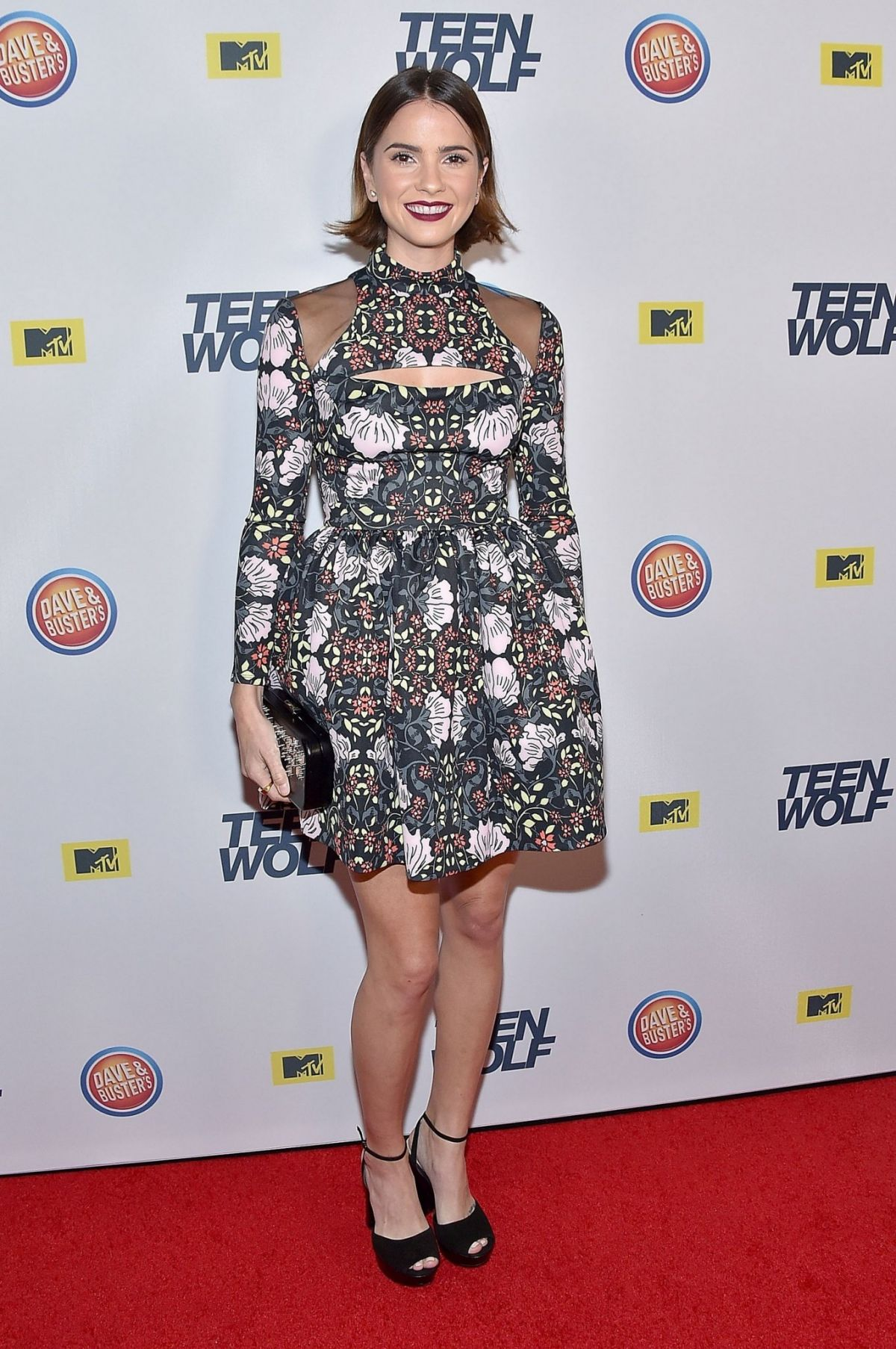 SHELLEY HENNIG at MTV Teen Wolf Premiere Party in Hollywood 12/20/2015