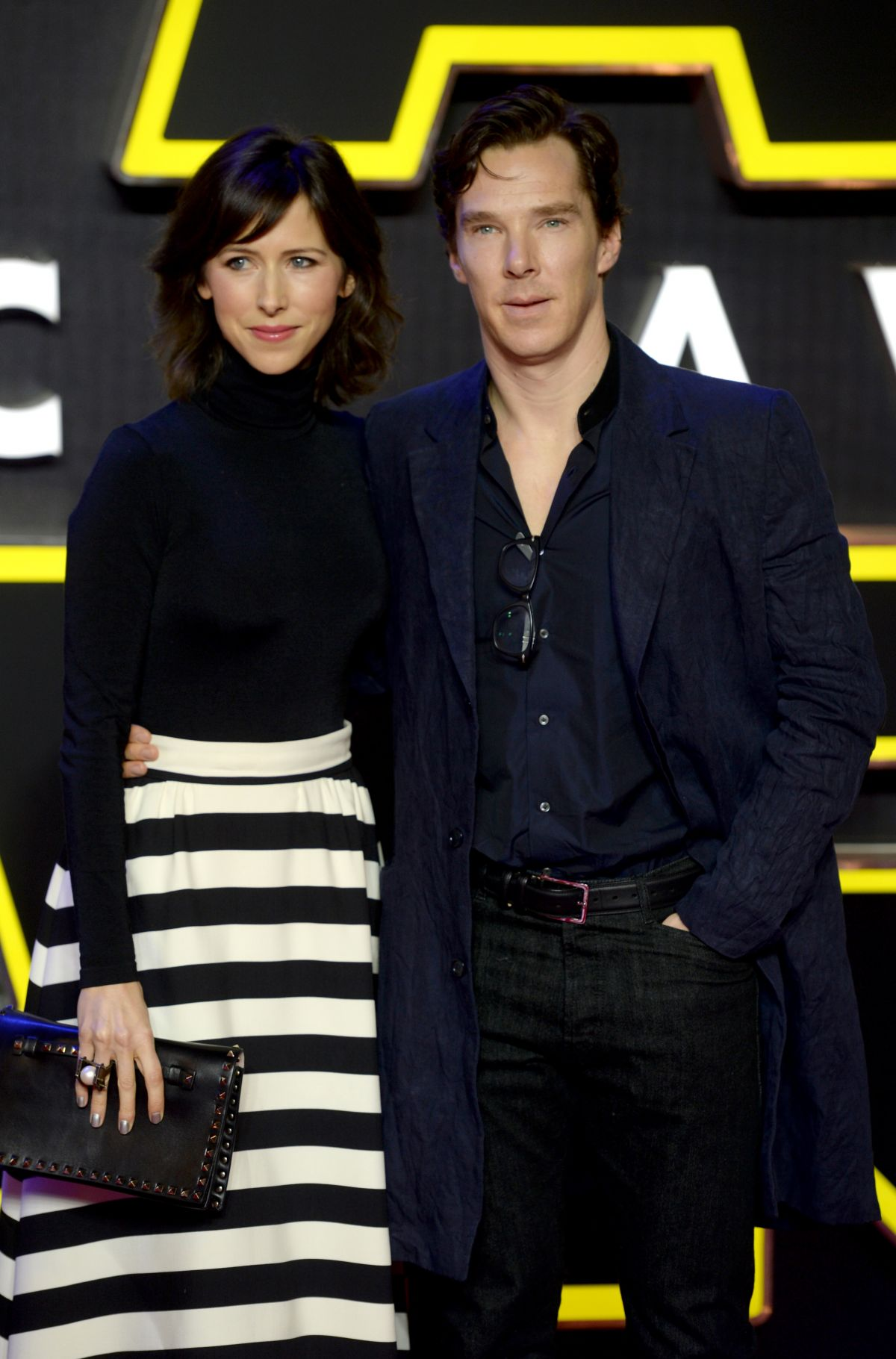 SOPHIE HUNTER at Star Wars: The Force Awakens Premiere in London 12/16/2015
