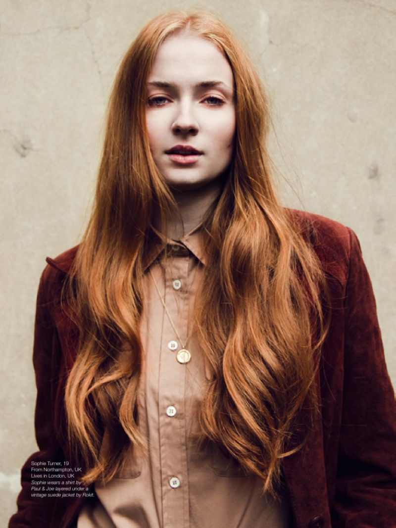 SOPHIE TURNER - #girlpower, Issue #8