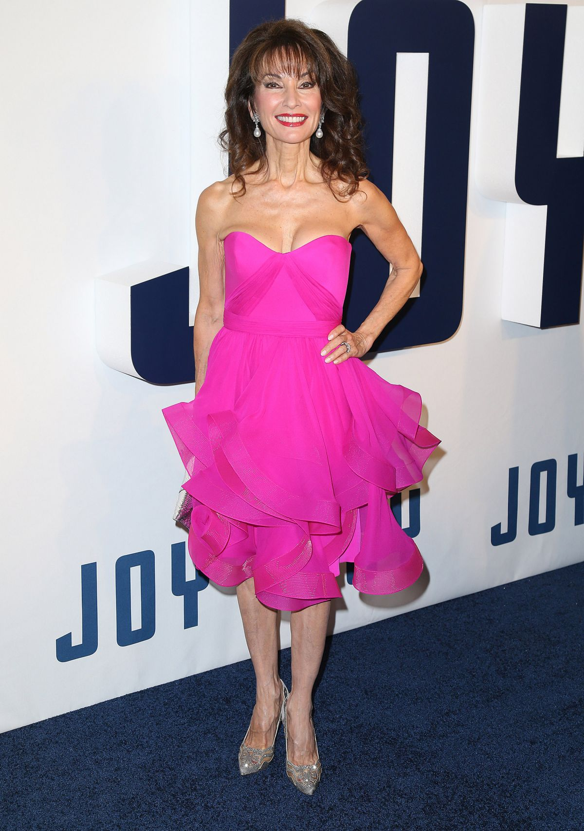 SUSAN LUCCI at Joy Premiere in New York 12/13/2015