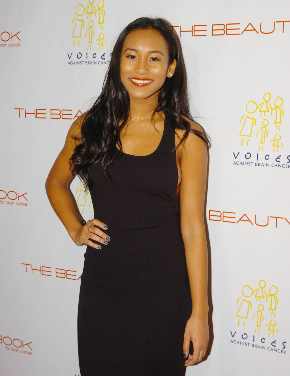 SYDNEY PARK at The Beauty Book for Brain Cancer Edition2 Launch Party in Los Angeles 12/03/2015