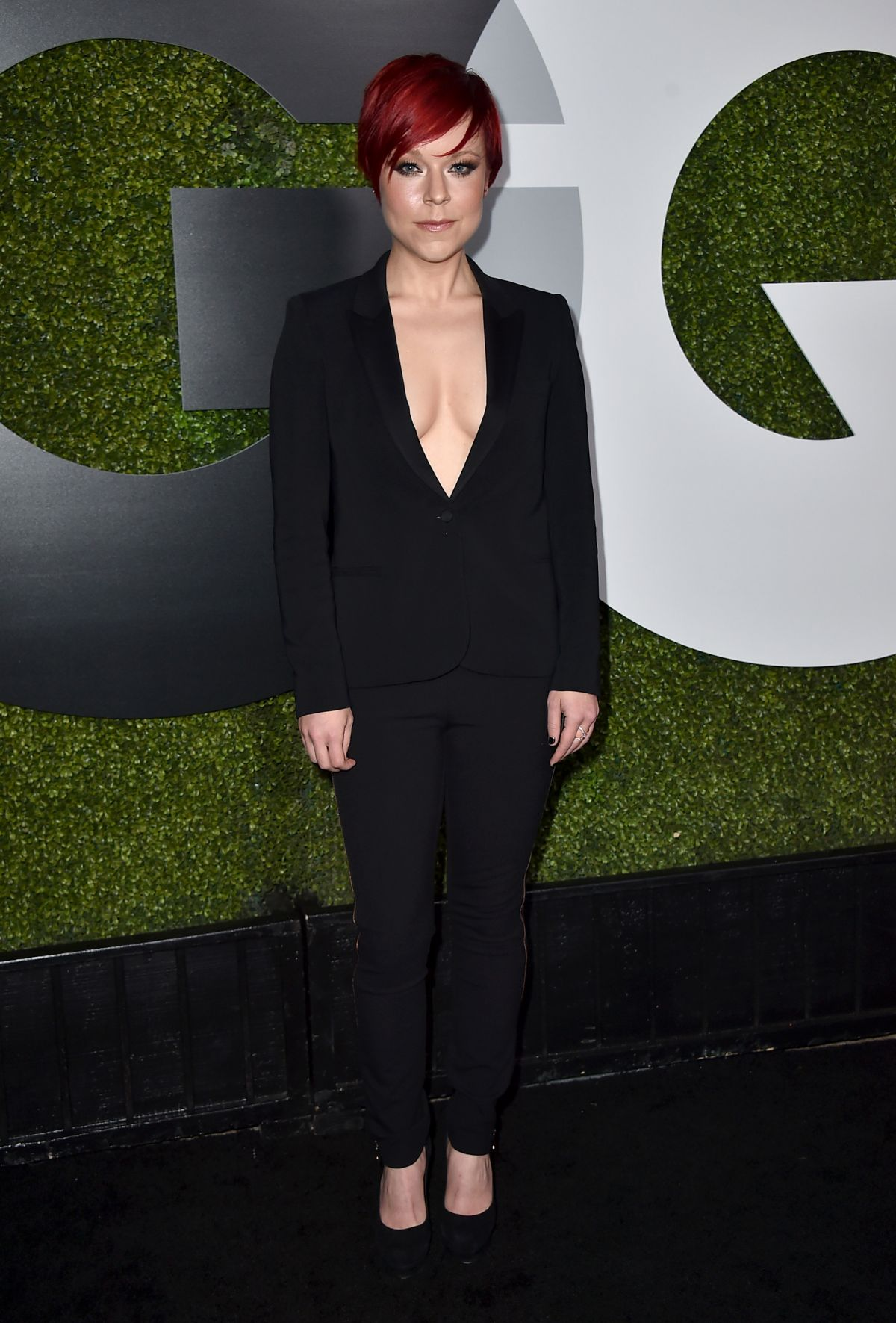 TINA MAJORINO at GQ Men of the Year Party in Los Angeles 12/03/2015
