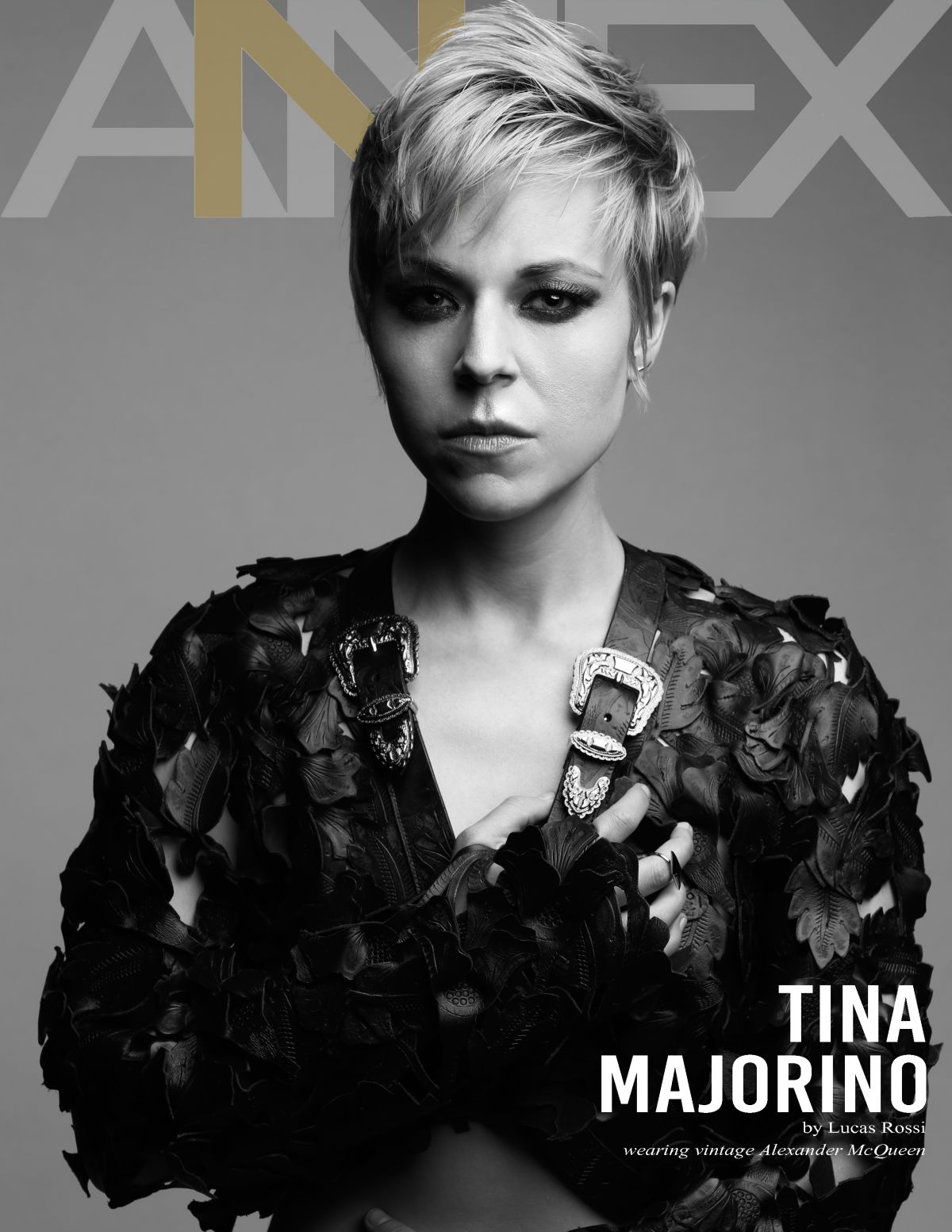 TINA MAJORINO in Annex Magazine, December 2015 Issue