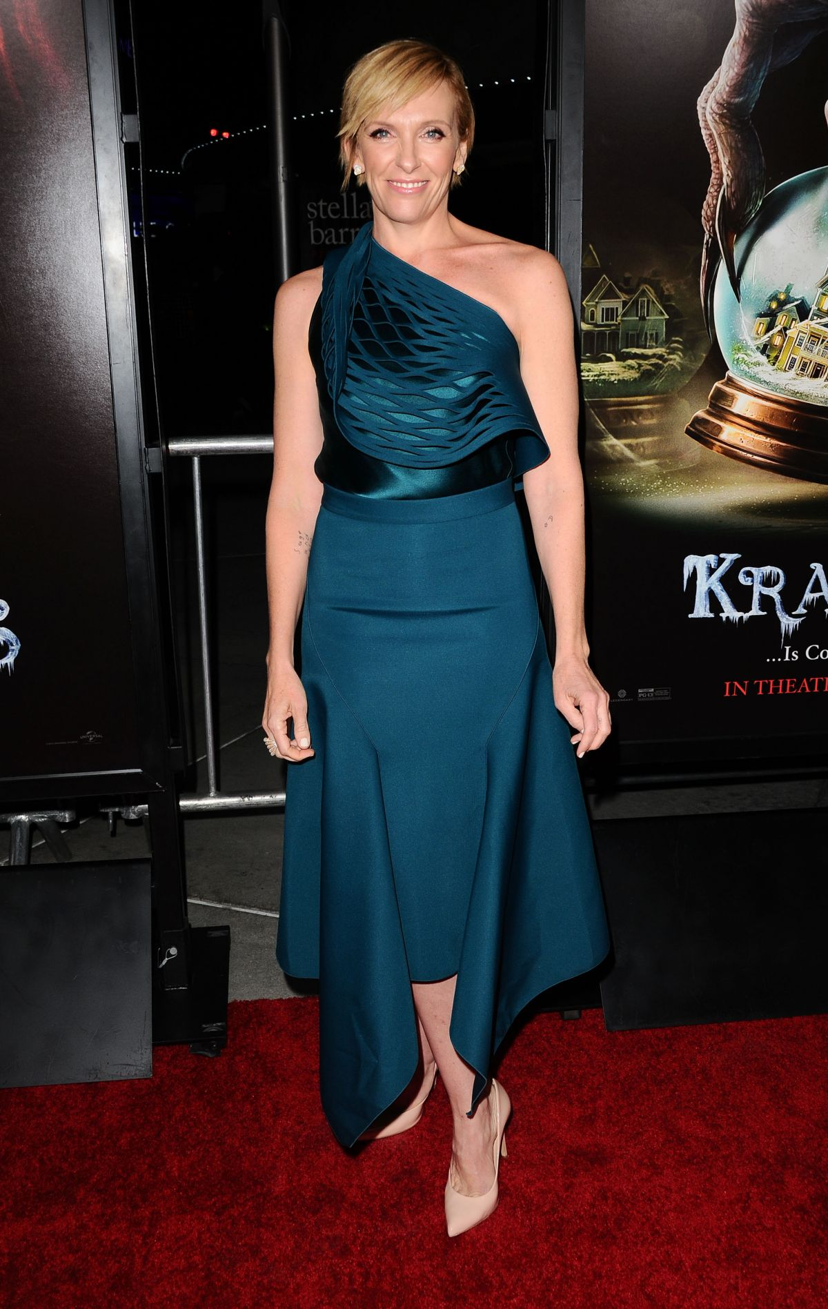 TONI COLLETTE at Krampus Premiere in Hollywood 11/30/2015