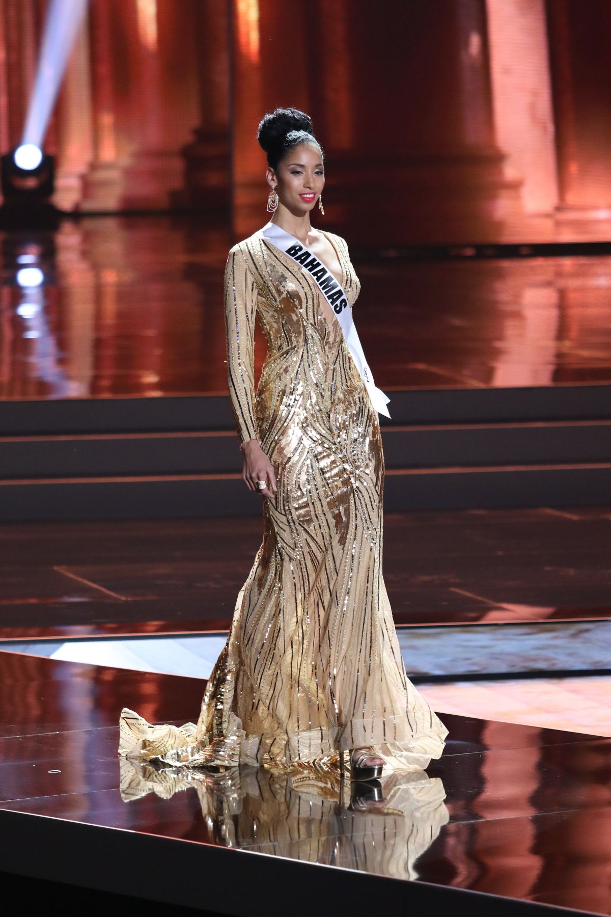 TORIA NICHOLE - Miss Universe 2015 Preliminary Round 12/16/2015