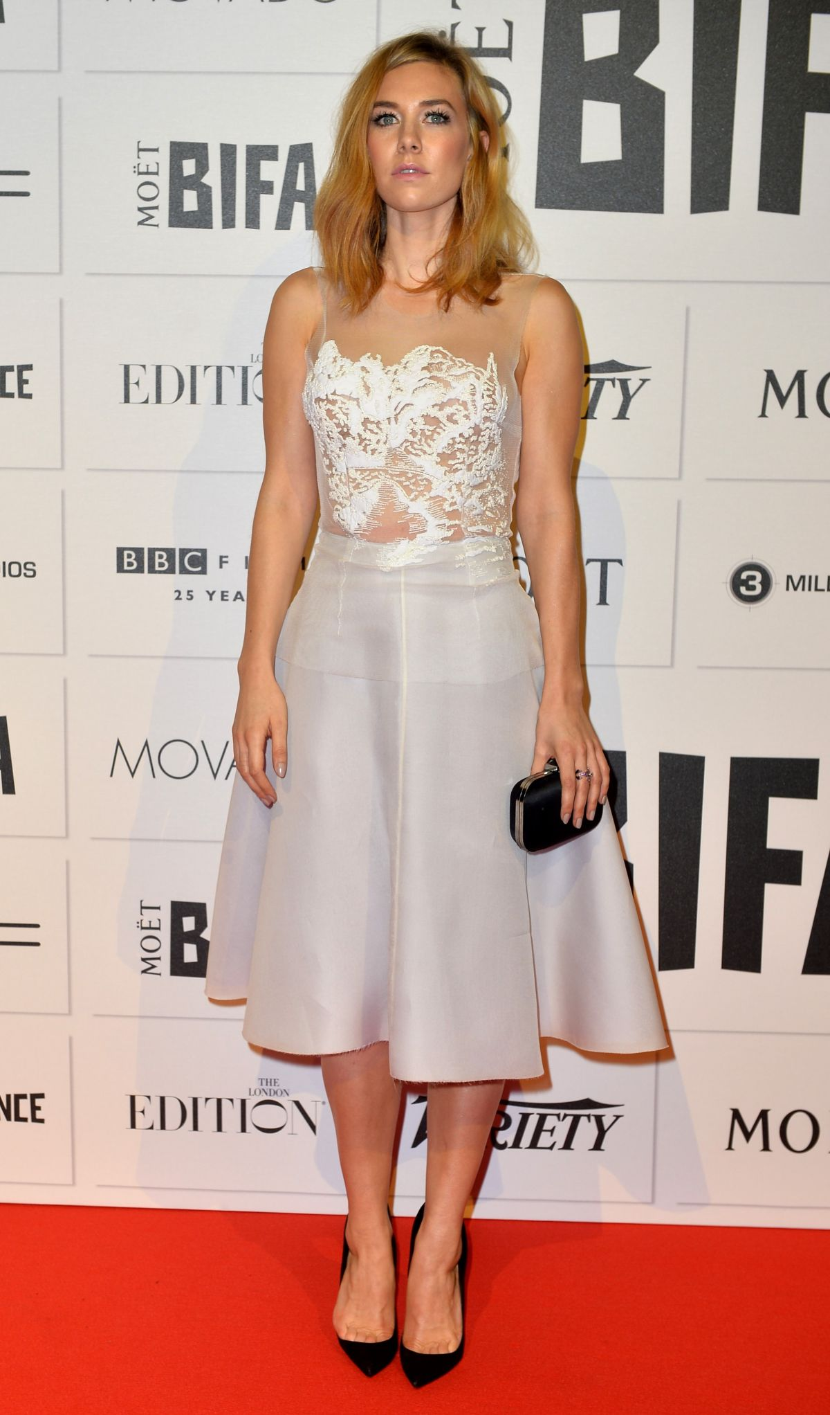 VANESSA KIRBY at Moet British Independent Film Awards 2015 in London 12/06/2015