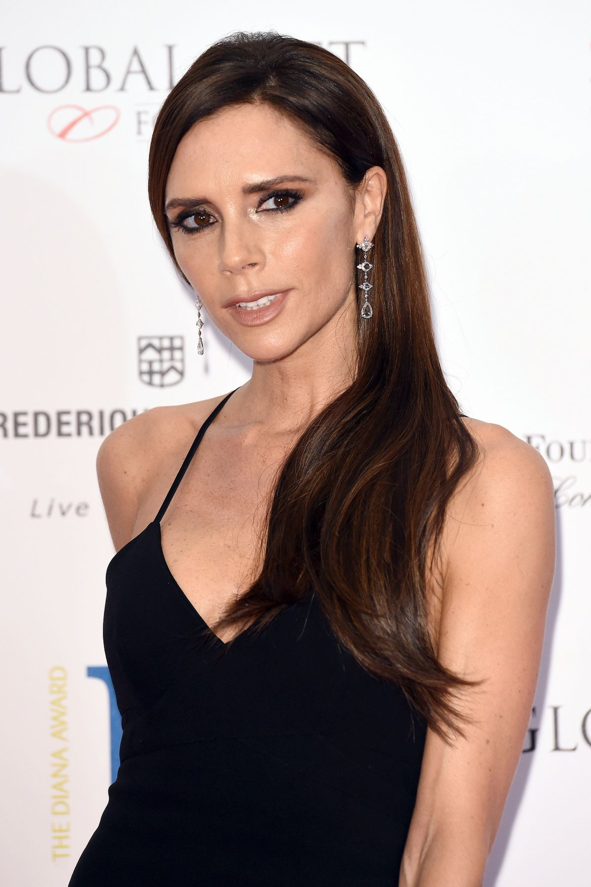 VICTORIA BECKHAM at 2015 Global Gift Gala in London ... Victoria Beckham