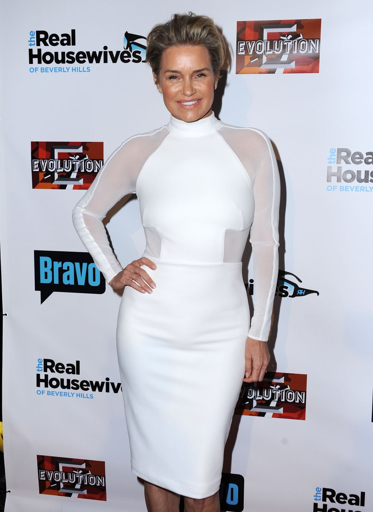 YOLANDA FOSTER at The Real Housewives of Beverly Hills, Season 6 Premiere Party in Hollywood 12/03/2015