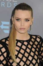 ABBEY LEE KERSHAW at at Critics's Choice Awards 2016 in Santa Monica 01/17/2016