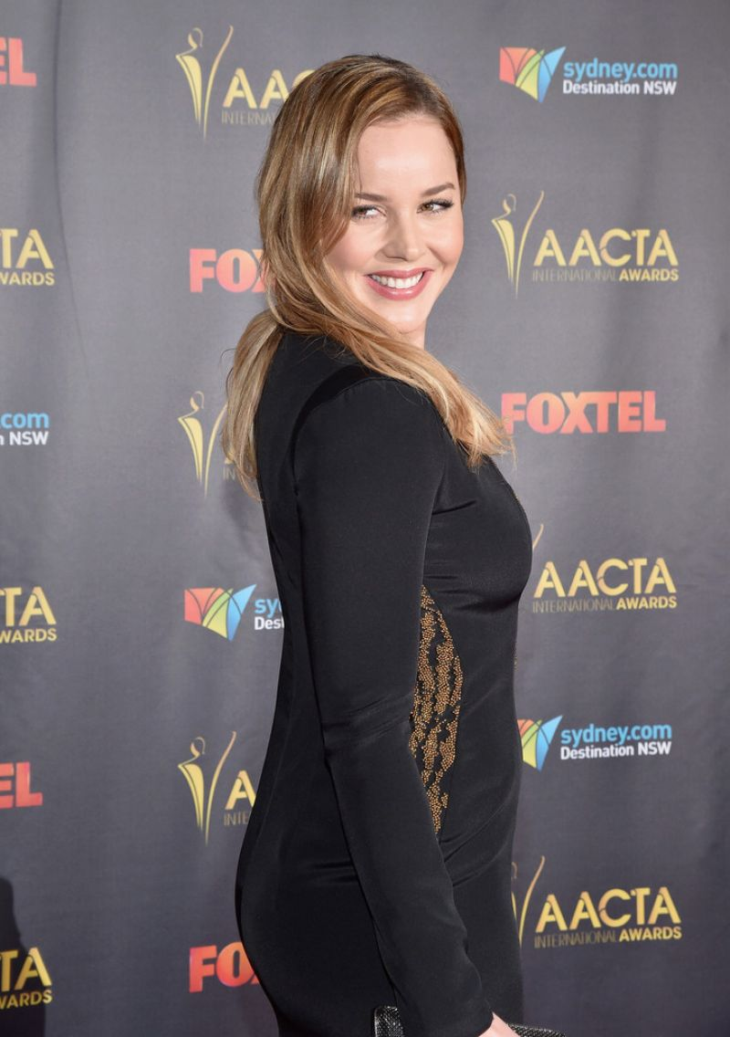ABBIE CORNISH at 5th aacta International Awards in Los Angeles 01/29/2016