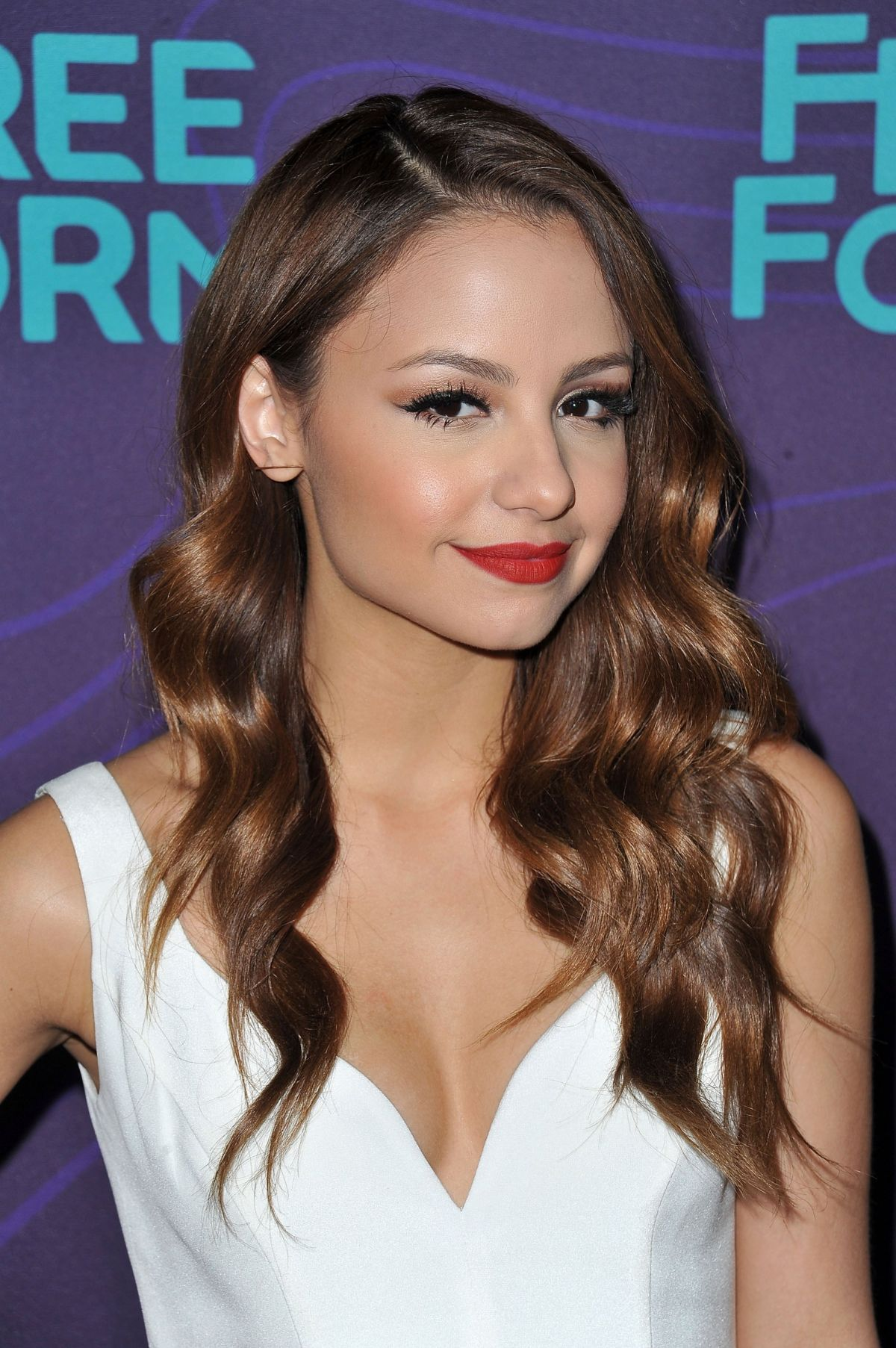 AIMEE CARRERO at ABC 2016 Winter TCA Tour in Pasadena 001/09/2016
