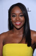 AJA NAOMI KING at 2016 Marie Claire's Image Makers Awards in Los Angeles 01/12/2016