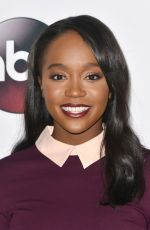 AJA NAOMI KING at ABC Panel at 2016 Winter TCA Tour in Pasadena 01/09/2016