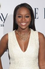 AJA NAOMI KING at Elle