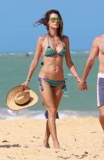 ALESSANDRA AMBROSIO in Bikini at a Beach in Brazil, January 2016