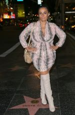ALICE AMTER at Katsuya Restaurant in Los Angeles 01/04/2016
