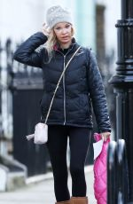 ALICIA DOUVALL Out and About in London 01/08/2016