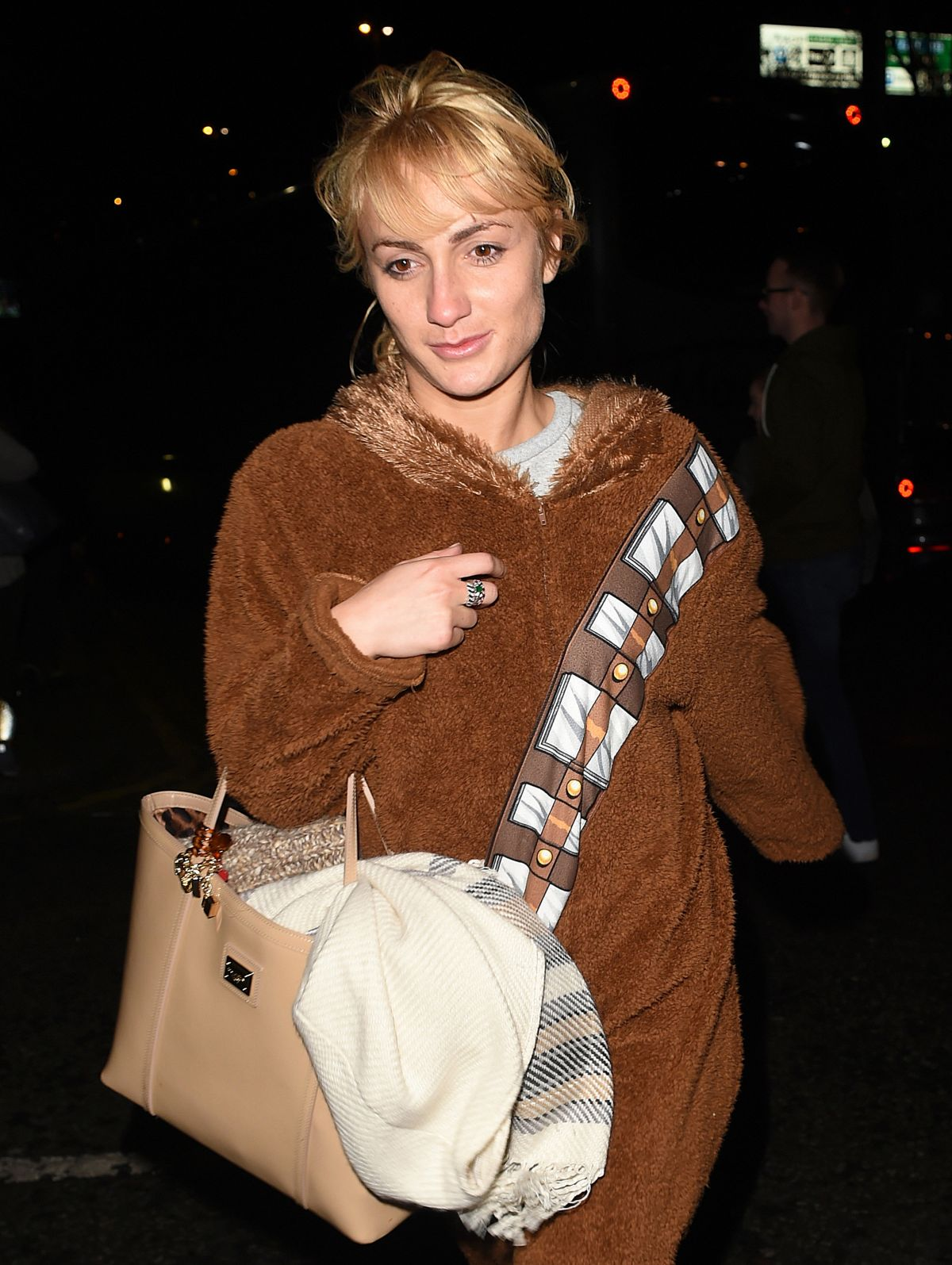 ALIONA VILANI Arrives at Her Hotel in Sheffield 01/25/2016