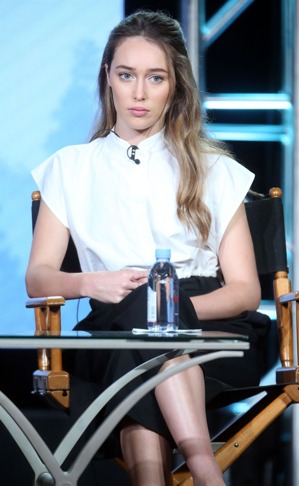 ALYCIA DEBNAM-CAREY at The 100 Panel at 2016 Winter TCA Tour in Pasadena 10/10/2016